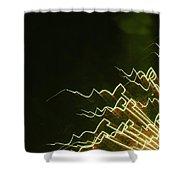 Fireworks As Art Ten Shower Curtain
