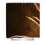 Fireworks As Art Two Shower Curtain