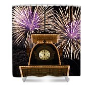 Fireworks At Ten Shower Curtain