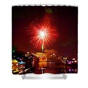 Fireworks In Phoenix Shower Curtain