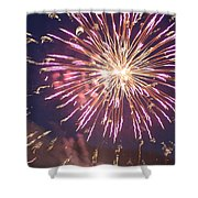 Fireworks In The Park 2 Shower Curtain