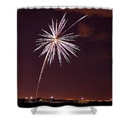 Fireworks July4 2013 Shower Curtain