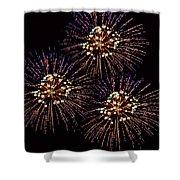 Fireworks - Purple Power Shower Curtain