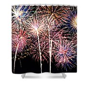 Fireworks Spectacular Shower Curtain