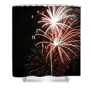 Fireworks6521 Shower Curtain