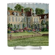 Firle Place England Shower Curtain