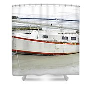 First 1 In  Shower Curtain