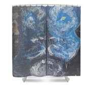 First And The Last Lion Shower Curtain