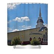 First Baptist Church - Pflugerville Texas Shower Curtain