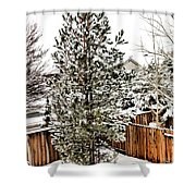First Blanket Of Snow Shower Curtain