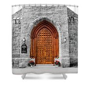 First Congregational Church Shower Curtain