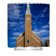 First Congregational Church Shower Curtain