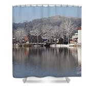 First Day Of Spring Bucks County Playhouse Shower Curtain