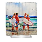 First Day Of Summer Shower Curtain