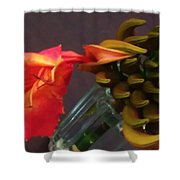 First Flower Shower Curtain