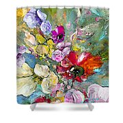 First Flowers Shower Curtain
