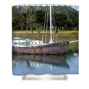 First Harbor Shower Curtain