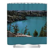 First Lake Shower Curtain