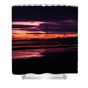 First Light At Granton, From Cramond Shower Curtain