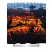 First Light - Grand Canyon Shower Curtain