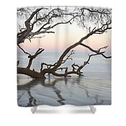 First Light - Hunting Island South Carolina Shower Curtain