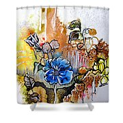 First Light In The Garden Of Eden Shower Curtain
