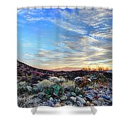 First Light In Valley Of Fire Shower Curtain