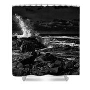 First Light - Kennebunkport Maine Shower Curtain