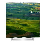 First Light On The Palouse Shower Curtain