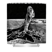 First Men On The Moon Shower Curtain