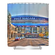First Niagara Center Shower Curtain
