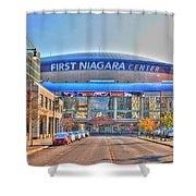 First Niagara Center Shower Curtain