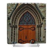 First Presbyterian Church Door Shower Curtain