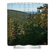 First Signs Of Fall Shower Curtain