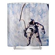 First Spacewalk Shower Curtain
