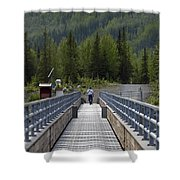 First Steps Down New Roads Shower Curtain