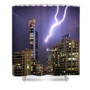 First Strike Shower Curtain