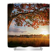 First Touch Of Autumn Shower Curtain