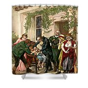 First Vaccination, 1796 Shower Curtain