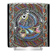 Fish 1 A Shower Curtain