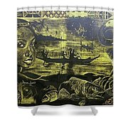 Fish Er Mans Daughter Shower Curtain