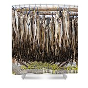 Fish For Snack Shower Curtain