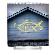 Fish House Shower Curtain