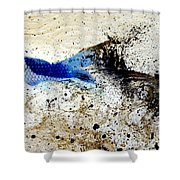 Fish In Rapids Shower Curtain