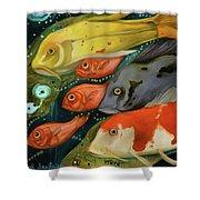 Fish Shower Curtain