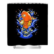 Fish Lucky Shower Curtain