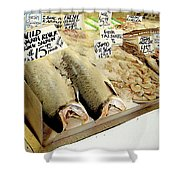 Fish Market Shower Curtain