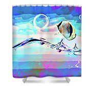 Fish Ocean Picture Shower Curtain