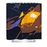 Fish Of The Tropics Shower Curtain