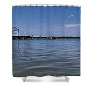 Fish Shack  Shower Curtain